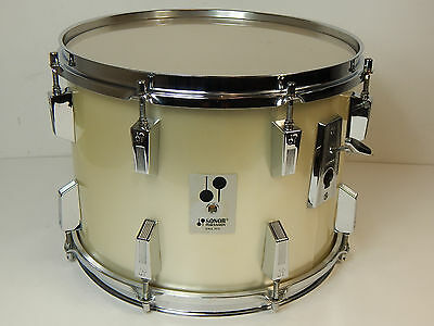 "Sonor Phonic 14"" x 10""  Tom  Metallic Silver Vintage  ** Made in Germany **"