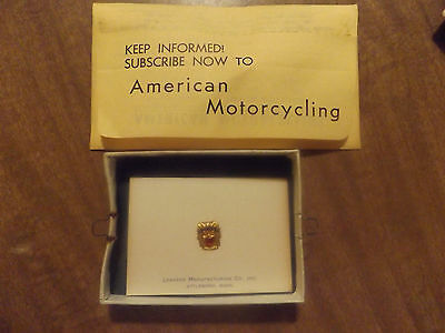 Rare Vintage AMA Pioneer Pin New In The Shipping Box From Sept. 30, 1962