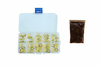 Piccolo Pad Assortment of 50, with IC Pad Adhesive, Choose Sizes, Made in USA!