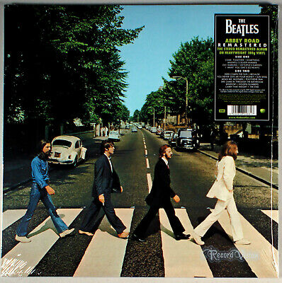Beatles - Abbey Road (1969/2012) [SEALED] 180g Vinyl; Produced by George Martin