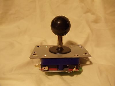 New Adjustable 2/4/8 Way Arcade Joystick with BLACK Ball Handle short shaft