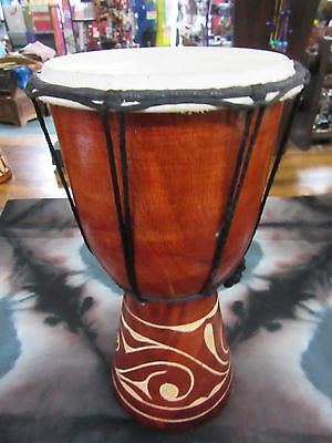 Quality Hand Made Drum 25 Cm High Carved Bongo Drum Djembe