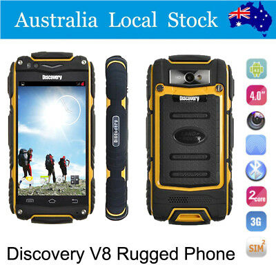 "4.0"" Land V8 Rover 3G Smartphone Rugged Android 4.2 Waterproof Cell Mobile Phone"