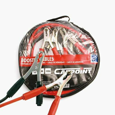 Carpoint 400 Amp 3 metre Copper Booster Cables Jump Leads 0177641