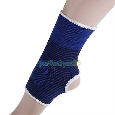 2 x Elastic Ankle Support Protection Sport Sock Running Injury Sprain Brace Foot