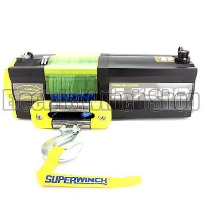 NEW: Superwinch S7500 12v Electric Trailer Winch with Synthetic Rope
