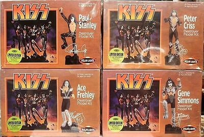 KISS Destroyer - Set de 4 Model-Kits Polar Lights