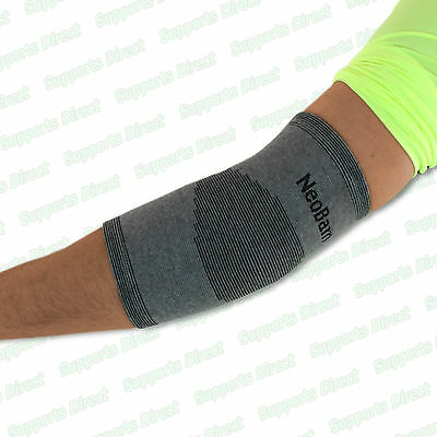 Quality Bamboo Elastic Elbow Compression Support Sleeve Brace Injury Wrap Pain