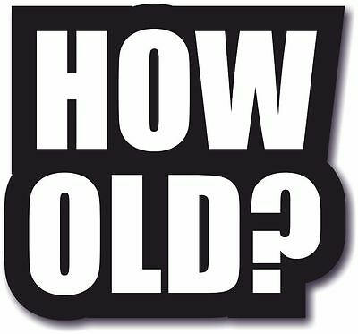 #WordProps Large - HOW OLD?
