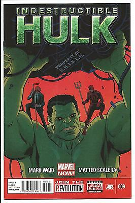 Indestrucible Hulk # 9 (Aug 2013), Nm