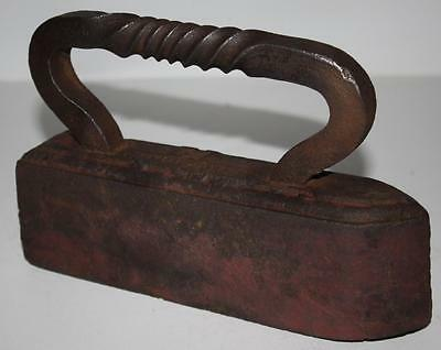 Antique Victorian Low Moor 12 Heavy Sad Iron - FREE Delivery [PL927]