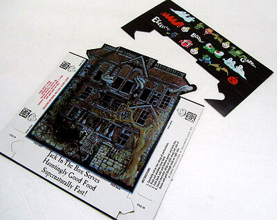 Rare Vintage Jack In The Box Haunted House 1970 Halloween Safety Tips Puzzle