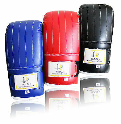 Oscar Gel Bag Mitts Boxing Gloves Grappling Punch Bag MMA Muay Thai Training