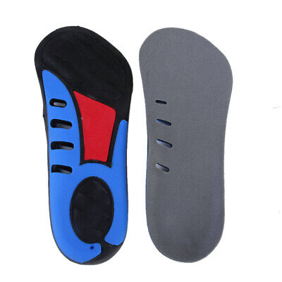 3/4 Orthotic Insoles Heel Cup Arch Support Plantar Fasciitis Fallen Aches Pads