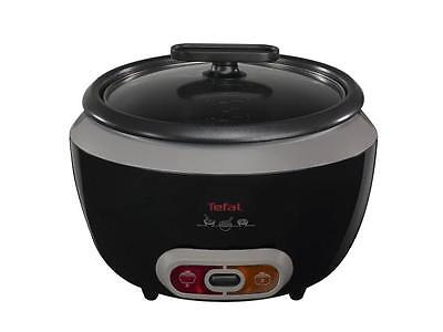 Tefal RK1568UK 1.8 Litre 10 Cup Auto Rice Cooker Non-stick Serving Bowl - Black