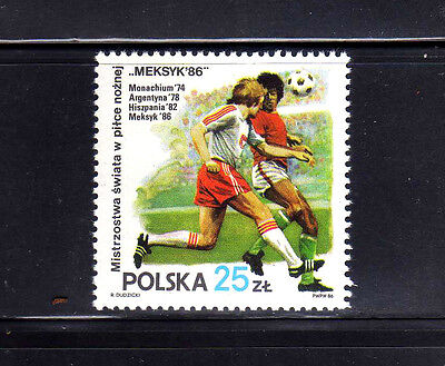 POLONIA/POLAND 1986 MNH SC.2728  World Cup Soccer Mexico