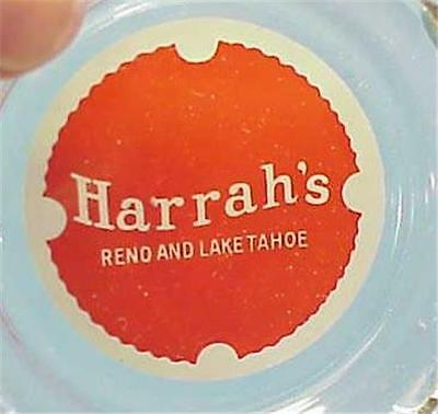Harrahs Reno Casino Ashtray -A