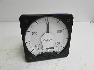 Westinghouse Kx-241 Style 013355 Panel Meter Dc Amperes 0-400 ***Nnb***