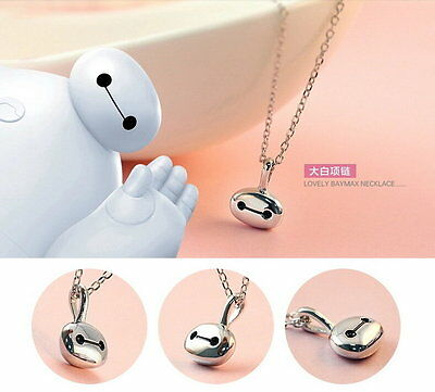 Big Hero 6 Baymax Lovely Silver look Necklace