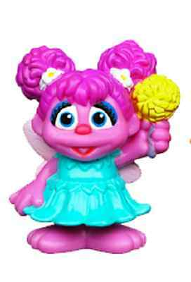 """Sesame Street Friends """"Abbey"""" 3 inch Figure, NEW and MINT by Hasbro"""