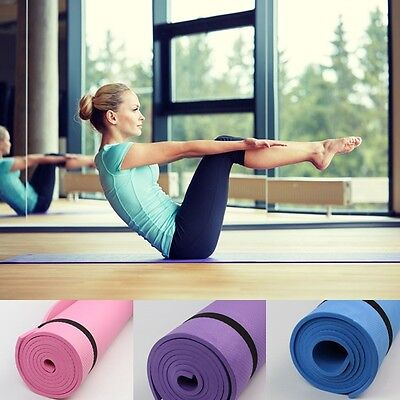 Yoga Exercice Fitness Entrainement Mat Physio Pilates Festival Camping Gym EVA