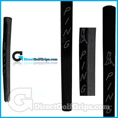 Ping Blackout JAS PP58 Classic Putter Grip - Black+Tape