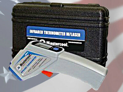 Mastercool 52224-A Infrared Laser Thermometer In Plastic Molded Case -58 - 932°F