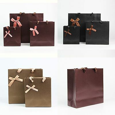 luxe sac papier cadeau sachet pochette d 39 emballage n ud papillon anniversaire eur 1 39. Black Bedroom Furniture Sets. Home Design Ideas