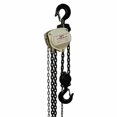 JET S90-500-10 5 Ton Hand Chain Manual Hoist with 10' Lift - 101950
