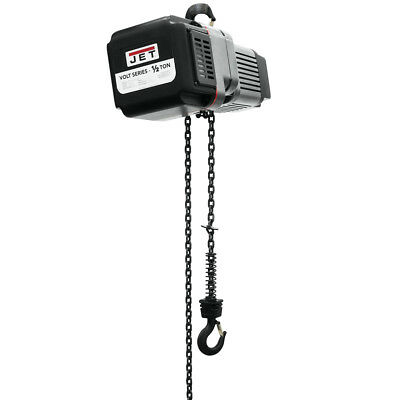 JET VOLT 1/2 Ton Electric Hoist 1PH/3PH 230V 20' Lift