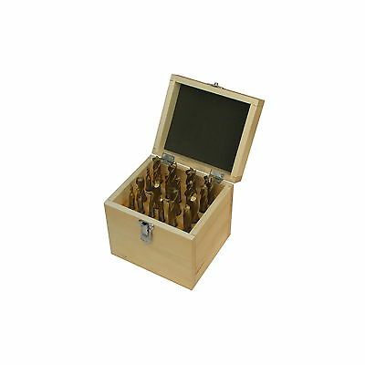 Jet 650210 20 Piece Tin-Coated Double End Mill Set