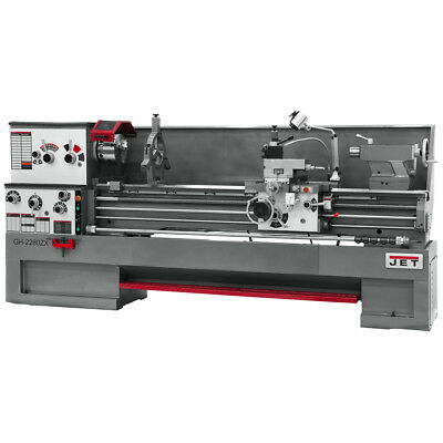 JET GH-2280ZX Large Spindle Bore Lathe With Collet Closer