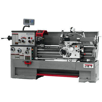 JET GH-1440ZX Large Spindle Bore Lathe With ACU-RITE 200S DRO & Taper Attachment