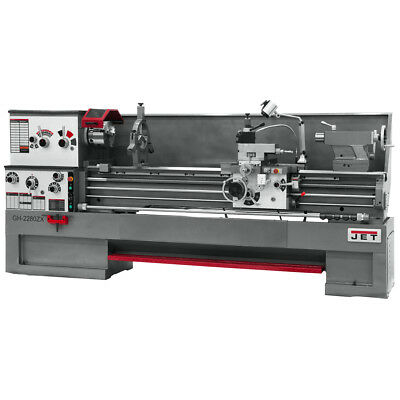 JET GH-2280ZX Large Spindle Bore Lathe With Taper Attachment