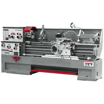 JET GH-1860ZX Large Spindle Bore Lathe With ACU-RITE 200S DRO