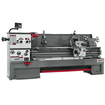 JET GH-2280ZX Large Spindle Bore Lathe With ACU-RITE 200S DRO
