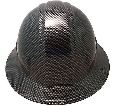 """""""WILD-SIDE"""" """"CARBON FIBER"""" Design FB and CS HYDRO DIPPED Safety Hard Hats"""