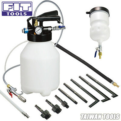 FIT Two Way6L Air Engine ATF Oil Dispenser w/ nozzle&bleeder UK VAT Include