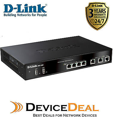 D-LINK DWC-1000 Unified Wireless Controller for up to 24APs(6 AP Lcns Included)
