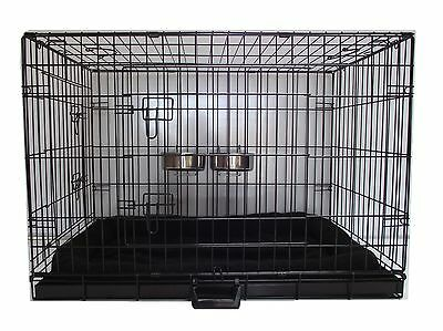 Dog Cage Puppy Crate Small Medium Large XL and XXL Pet Carrier DELUXE Package