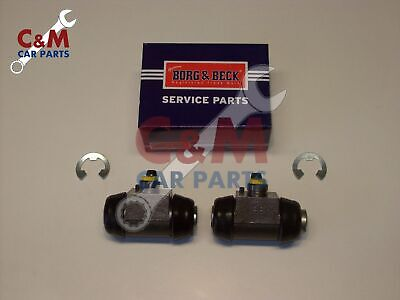 REAR BRAKE WHEEL CYLINDER PAIR for ROVER SD1 1976-87 - BORG & BECK
