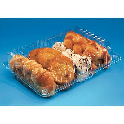 50 pcs - Plastic Disposable Clear BOX - Salad Cake Muffin Pastry Food -  2011