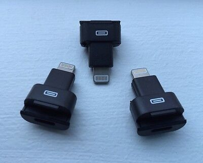 3X Generic Otter box Lifeproof Lightning 8 Pin Dock Extender Apple Iphone 5 6 +