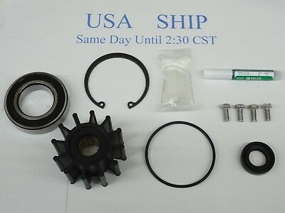 Volvo Penta Raw Sea Water Pump Repair Rebuild Kit 5.7Gi 5.7GL 5.7GSi 5.7GXi
