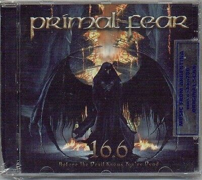 Primal Fear 16.6 Before The Devil Knows You're Dead Cd