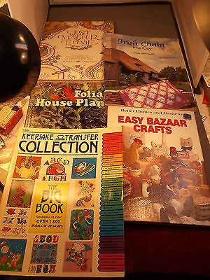 "Lot Of Books ""Irish Chain In A Day (Quilting)"" ""Just A Matter Of Thyme"" Cookbook"