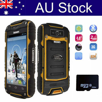 Unlocked 3G Android Smartphone Outdoor 4.0'' Dual Card Rugged Mobile Phone +32GB