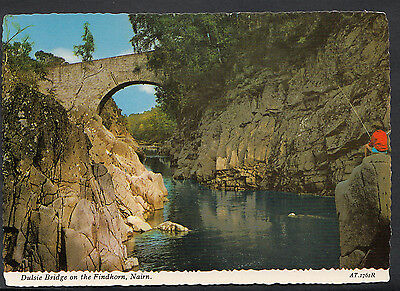 Scotland Postcard - Dulsie Bridge On The Findhorn, Nairn    LC5120