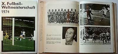 Orig.Book / Report    World Cup GERMANY 1974  -  Special Editon  !!   RARE