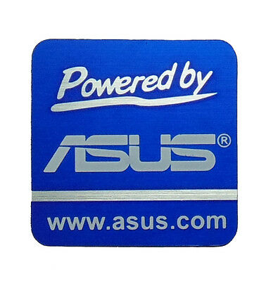 POWERED BY ASUS STICKER LOGO AUFKLEBER 20x20mm [220]